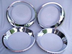 Rally Rim Trim Rings Set of 4 NEW for Factory Rims (Various Sizes Available)